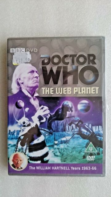 Doctor Who - The Web Planet (DVD, 2005) - New and Sealed - William Hartnell